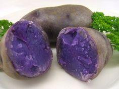 10. Le patate blu