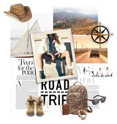 """Road Trip"" by lacas ❤ liked on Polyvore featuring Misoui, Steve Madden, Planet Cowboy, Fetco, Burberry, women's clothing, women, female, woman and misses"