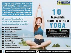 *#MUST READ (10 INCREDIBLE HEALTH BENEFITS OF YOGA)*   FREE CONSULTATION: Call☎/Whatsapp us📱 +919953329177.  For Diet Plan Inquiry: Email us- support@weightshakefactory.com Yoga Benefits, Health Benefits, Health Tips, Weight Loss Plans, Weight Loss Tips, Online Diet Plans, Free Diet Plans, Different Diets, Getting Back In Shape
