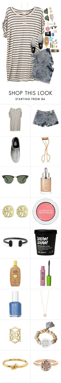 """shopping haul in the d!!"" by ellaswiftie13 ❤ liked on Polyvore featuring J.Crew, Charlotte Tilbury, Rayban, Christian Dior, Initial Reaction, Bare Escentuals, Kendra Scott, Sun Bum, Maybelline and Essie"