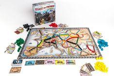 Rebel Gra Wsiąść do Pociągu: Europa 115,30zł - Gry Planszowe w Gandalf.com.pl Gandalf, Games, Rebel, Shops, Europe, Simple Lines, Tents, Gaming, Retail