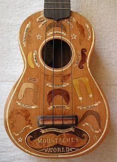Mustache guitar