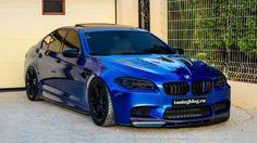 slammed BMW M5 F10 Manhart Tuningblog.eu 1