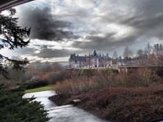 Biltmore House.( Great photo taken from the window of a car!)