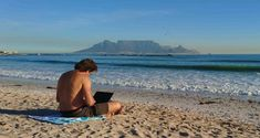 How to Travel the World While Making Money - Working Online beach