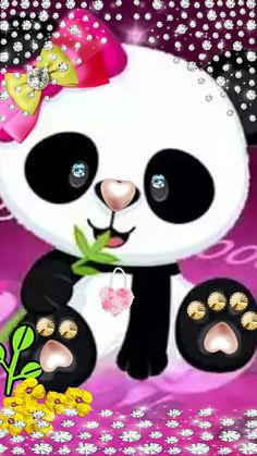 Kawaii Cute Wallpapers, Cute Panda Wallpaper, Panda Wallpapers, Bear Wallpaper, Wallpaper Iphone Cute, Funny Wallpapers, Teddy Bear Cartoon, Cute Teddy Bears, Cute Images