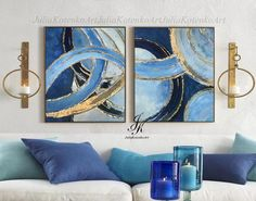 Home Interior De Mexico Abstract Painting Gold Leaf Large Oil Painting by Julia Kotenko.Home Interior De Mexico Abstract Painting Gold Leaf Large Oil Painting by Julia Kotenko Acrylic Painting Canvas, Canvas Art, Wooden Painting, Knife Painting, Large Painting, Painting Frames, Painted Leaves, Hallway Decorating, Large Wall Art