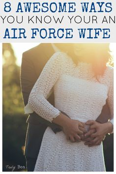 7 Awesome Ways you know you're an Air Force Wife. I love this post!! Regardless if you're an Air Force wife or not, all military spouses and significant others can relate- especially number 8!!