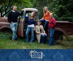 come get your family photo taken on our old time truck! www.free-spirit-photography.com