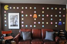 Pac-Man Wall Art - 80's Theme Party