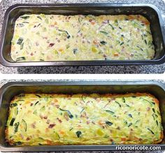 Leek and zucchini pie - Recetas - Pastel De Torta Vegetable Recipes, Vegetarian Recipes, Healthy Recipes, Cooking For One, Cooking Time, Real Food Recipes, Cooking Recipes, Yummy Food, Fish Recipes