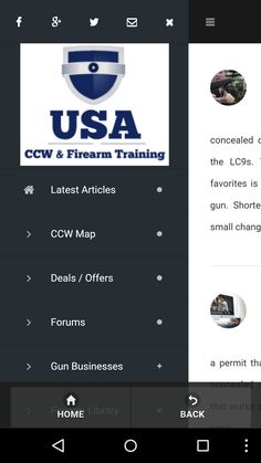 Concealed Carry Reciprocity Map Shooting Ranges Near Me Useful - Handgunlaw us ccw map
