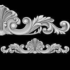 Best Wood Carving Patterns Of Black And White Collection - Patterns Cnc Wood Carving, Wood Carving Faces, Wood Carving Designs, Wood Carving Patterns, Wood Patterns, Crown Pattern, 3d Pattern, Motif Arabesque, 3 D