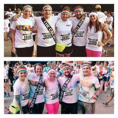 GNGF team participated in the Color Run in Cincinnati! #Happiest5k #Team