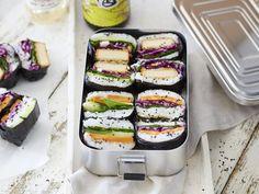 Onigirazu Sushi-Sandwiches