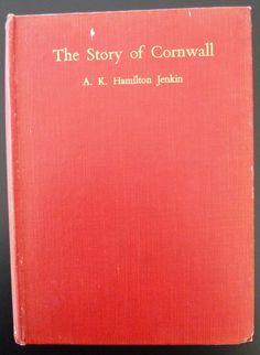 Story of Cornwall 1934 Hamilton Jenkin History Photos Church Coast Roads England | eBay