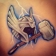 marvel thor tattoo - Google Search