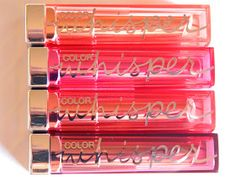 Makeover My World: Maybelline Color Sensational Color Whisper Lipsticks: Review + Swatches!