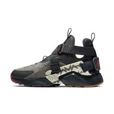 separation shoes 70812 ac082 Nike Air Huarache City Utility Premium N7 Women s Shoe Size 5.5  (Anthracite)  womenshoessize13