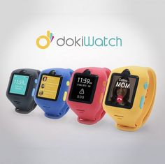 Doki Technologies sammelt Geld für dokiWatch: The World's Most Advanced Smartwatch For Kids auf Kickstarter! The first-ever smartwatch for kids to feature video calling. All-in-one wearable phone, GPS locator, fitness tracker, and more! Tracker Fitness, Waterproof Fitness Tracker, Wearable Device, Wearable Technology, Best Fitness Watch, Fitness Watches For Women, Gps Tracking, Tracking Devices, Cool Watches