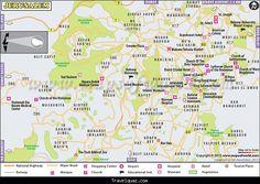 Map of jerusalem - http://travelquaz.com/map-of-jerusalem.html