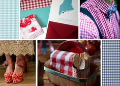 gingham-collage