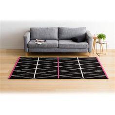 Geometric Patterned Neon Rug - Large | Kmart 160 x 235 $80