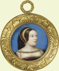 Miniature of Margaret Tudor previously owned by Queen Victoria.