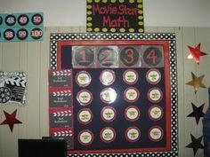 Movie Star Math (workstation board)