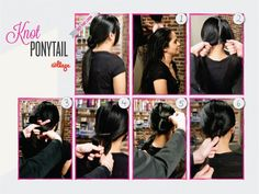 DIY Knotted Ponytail- I love these, i just need to grow my hair out some more for they really to work. Health Trends, Health Guru, Health Class, Health And Nutrition, Womens Health Magazine, Knotted Ponytail, Ponytail Easy, Healthy Women, Women Lifestyle