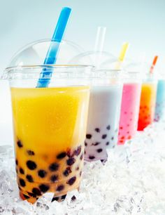 How to make Bubble Tea at home - http://fizzypeaches.blogspot.co.uk/2013/01/simple-way-to-make-bubble-tea.html