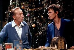 1977 Bing Crosby and David Bowie