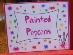 Painting Birthday Party.. Lots of great ideas