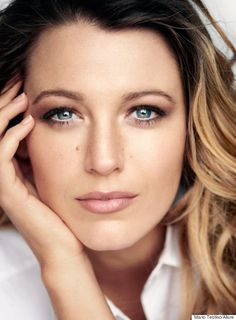 New Mom Blake Lively Isn't Concerned With 'Having It All' Gorgeous Natural makeup here!!