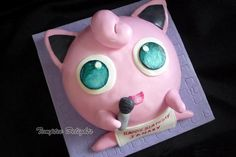 Jigglypuff Cake - Cake by Anupama Ramesh
