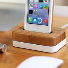 Grove Bamboo iPhone Accessories