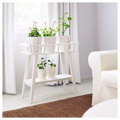 IKEA - LANTLIV, Blumenständer, Mit einem Blumenständer wird Dekorieren mit Pflanzen überall im Haus ganz leicht.Für mehrere Pflanzen in einer Reihe; daher auch als Raumteiler geeignet.
