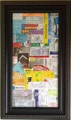 This is a great idea!! I've needed an idea for a way to display all the stuff I've saved :)