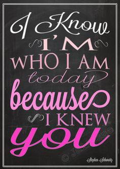 Wicked Quote I Know I'm Who I am Today For Good by Jalipeno, $4.00