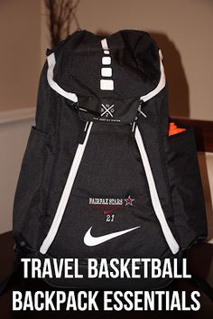 Confessions of a Sports Mama: Sports Mama Tip: Travel Basketball Backpack Essentials Wsu Basketball, Basketball Shorts Girls, Basketball Games For Kids, Basketball Tricks, Basketball Workouts, Basketball Skills, Best Basketball Shoes, Basketball Players, Basketball Quotes