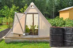How to Build a Pyramid Greenhouse                                                                                                                                                      More