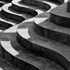 Concrete curves - photograph by Antonio Martin