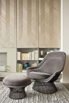 Maya Romanoff Wood Veneer Wallcovering - Jose Solis Betancourt and Paul Sherrill - LuxeSource | Luxe Magazine