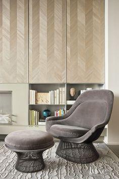 Maya Romanoff Wood Veneer Wallcovering - Jose Solis Betancourt and Paul Sherrill - LuxeSource | Luxe Magazine