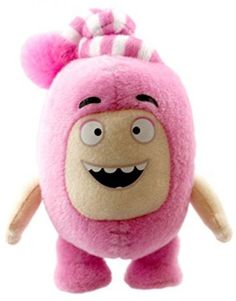 Oddbods Newt Small Soft Toy cute 3D animated sketches CITV and Boomerang