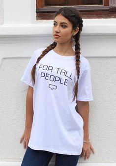 For Tall People Para pessoas altas