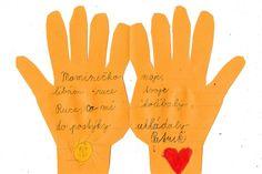 Ruce - přání pro maminku