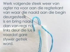Hekel Idees: Tutoriaal: Hoe om 'n randjie om te hekel. Knitting Patterns Free, Free Pattern, Crochet Patterns, Afrikaans, Useful Life Hacks, Chrochet, Hoe, Diy Projects, Sewing