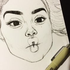 See this Instagram photo by @emzdrawings • 28.5k likes Amazing Drawings, Beautiful Drawings, Amazing Art, Love Drawings, Pencil Drawings, Tumblr Drawings, Artist Sketchbook, Dope Art, Girl Drawing Sketches