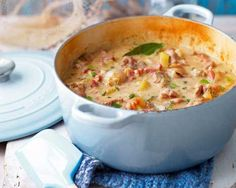 Normandy Pork Casserole with Apple Brandy - La Creuset Recipe